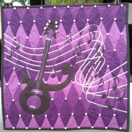 Prince Cherrywood Challenge quilt
