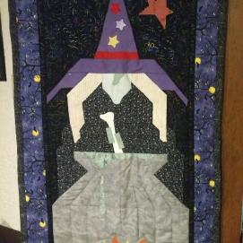 Witch door hanging.